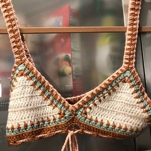 Music festival favorite crochet bra
